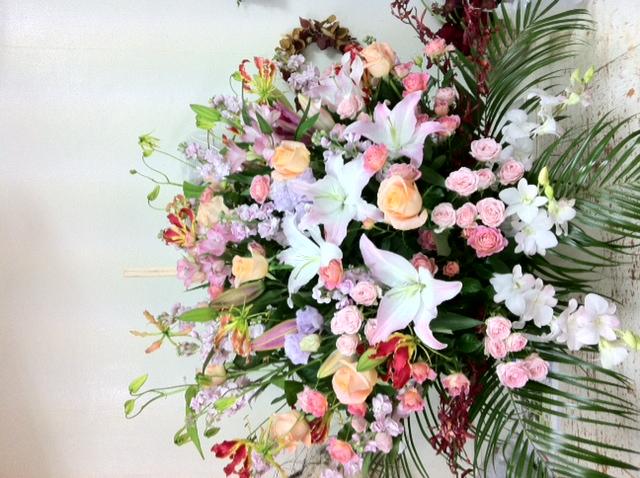 シャンソンの会のお花